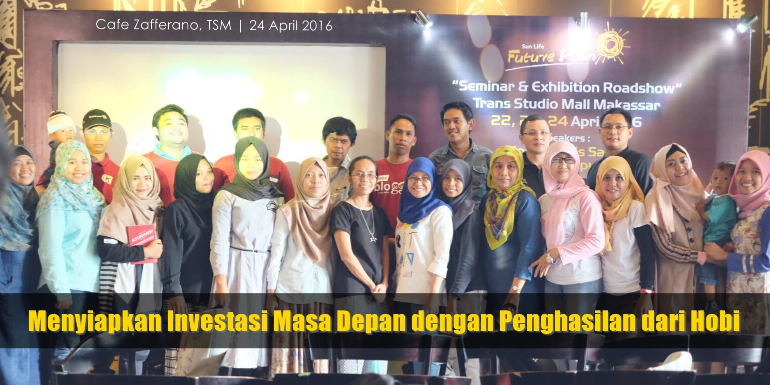 peserta seminar sunlife Future Plan Makassar
